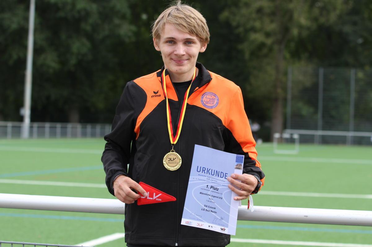 Till Czisnik wird Deutscher Jugendmeister
